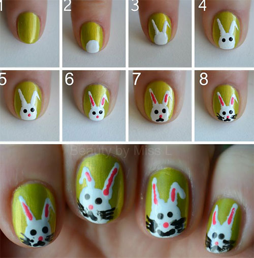 10-Step-By-Step-Easter-Nail-Art-Tutorials-For-Beginners-Learners-2015-3