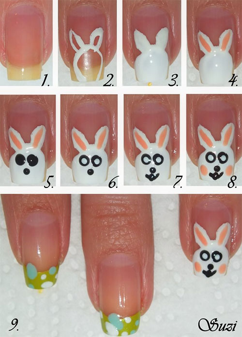 10-Step-By-Step-Easter-Nail-Art-Tutorials-For-Beginners-Learners-2015-4