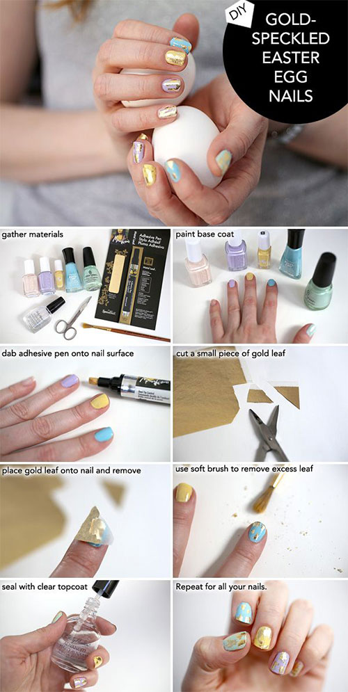 10-Step-By-Step-Easter-Nail-Art-Tutorials-For-Beginners-Learners-2015-6