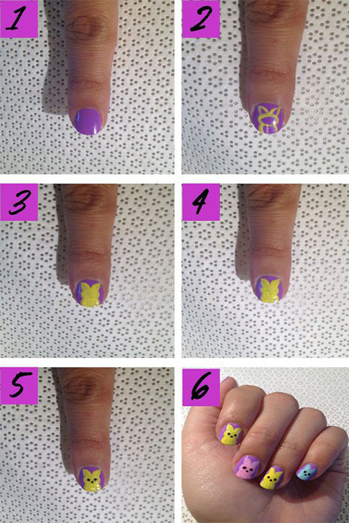10-Step-By-Step-Easter-Nail-Art-Tutorials-For-Beginners-Learners-2015-7