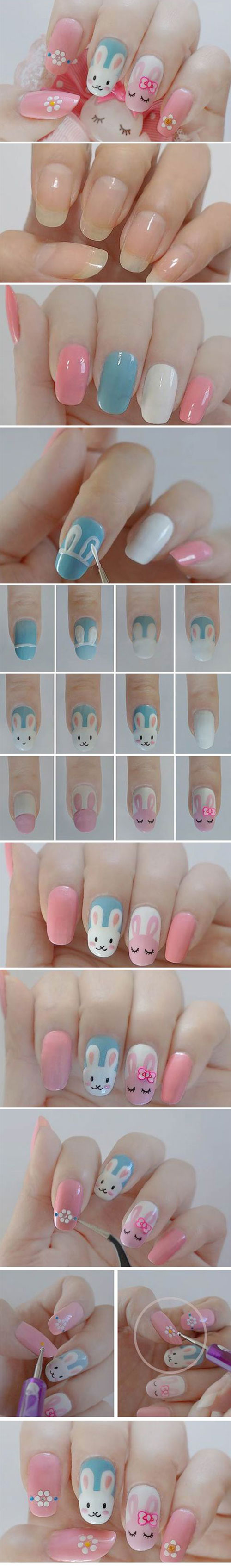 10-Step-By-Step-Easter-Nail-Art-Tutorials-For-Beginners-Learners-2015-9