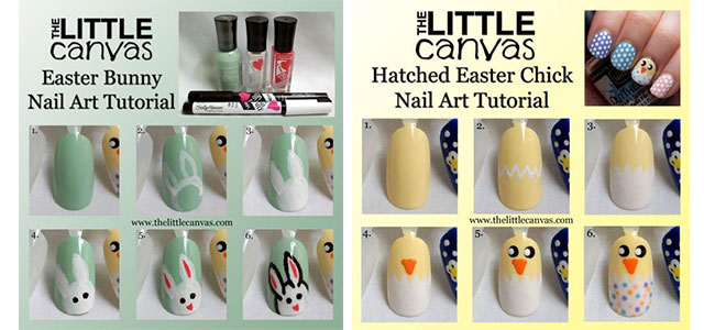 10-Step-By-Step-Easter-Nail-Art-Tutorials-For-Beginners-Learners-2015