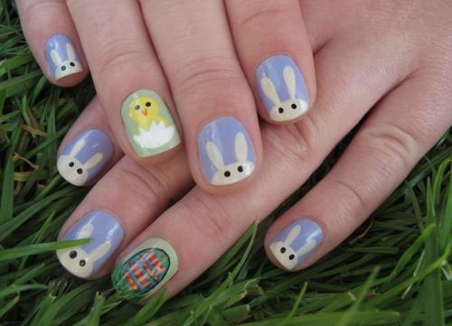 12-Easter-Chick-Nail-Art-Designs-Ideas-Trends-Stickers-2015-1