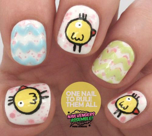 12-Easter-Chick-Nail-Art-Designs-Ideas-Trends-Stickers-2015-5