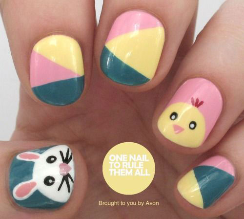 12-Easter-Chick-Nail-Art-Designs-Ideas-Trends-Stickers-2015-6