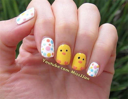 12-Easter-Chick-Nail-Art-Designs-Ideas-Trends-Stickers-2015-7