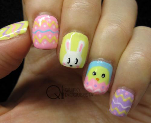 12-Easter-Chick-Nail-Art-Designs-Ideas-Trends-Stickers-2015-8