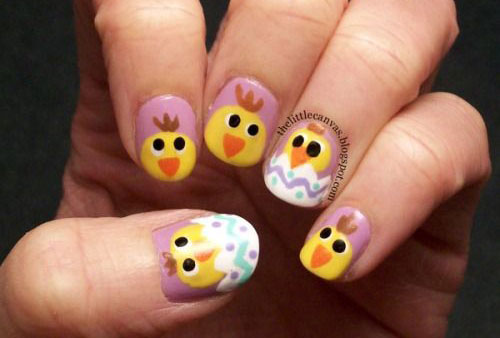12-Easter-Chick-Nail-Art-Designs-Ideas-Trends-Stickers-2015-9