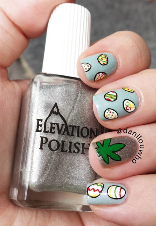 Easter Egg Nail Art Designs Ideas Trends Stickers 2015 13 15+ Easter ...