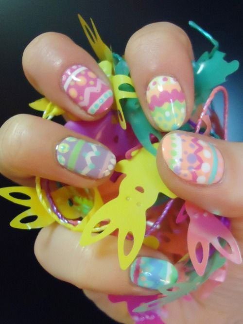 15 Easter Egg Nail Art Designs Ideas Trends Stickers 2015 4 15+ Easter ...