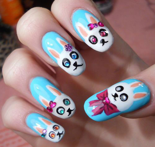 20-Easter-Bunny-Nail-Art-Designs-Ideas-Trends-Stickers-2015-13