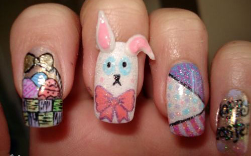 20-Easter-Bunny-Nail-Art-Designs-Ideas-Trends-Stickers-2015-18