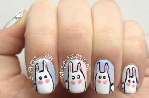 20-Easter-Bunny-Nail-Art-Designs-Ideas-Trends-Stickers-2015-19