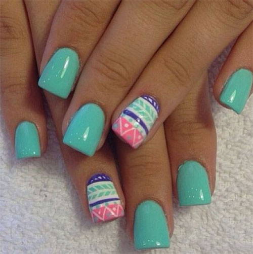 Cute-Easter-Gel-Nail-Art-Designs-Ideas-Trends- - Cute Easter Gel Nail Art Designs, Ideas, Trends & Stickers 2015