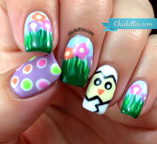 Cute-Easter-Gel-Nail-Art-Designs-Ideas-Trends-Stickers-2015-7