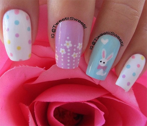 Cute-Easter-Gel-Nail-Art-Designs-Ideas-Trends-Stickers-2015-8