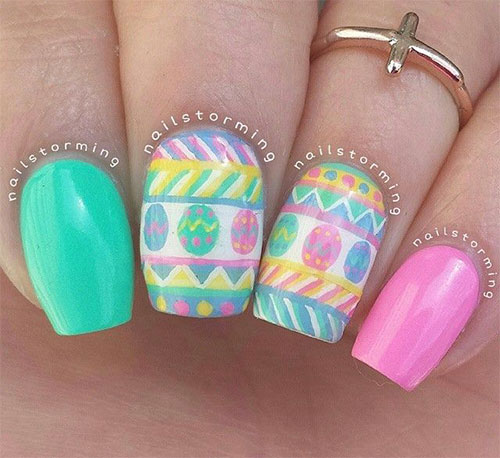 Cute-Easter-Gel-Nail-Art-Designs-Ideas-Trends-Stickers-2015-9