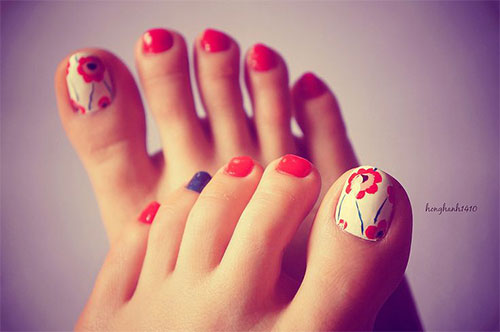 Spring Toe Nail Designs : Spring toe nail art designs ideas trends stickers