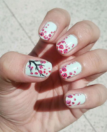 15-Cherry-Blooms-Spring-Nail-Art-Designs-Ideas-Trends-Stickers-2015-10