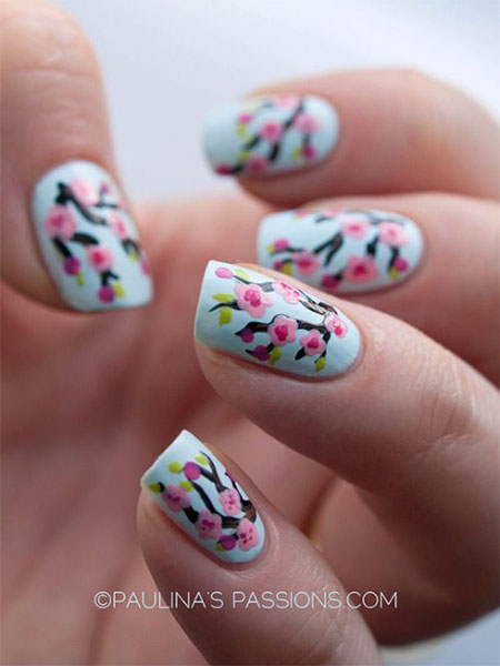 15-Cherry-Blooms-Spring-Nail-Art-Designs-Ideas-Trends-Stickers-2015-11