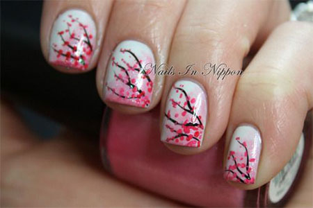 15-Cherry-Blooms-Spring-Nail-Art-Designs-Ideas-Trends-Stickers-2015-12