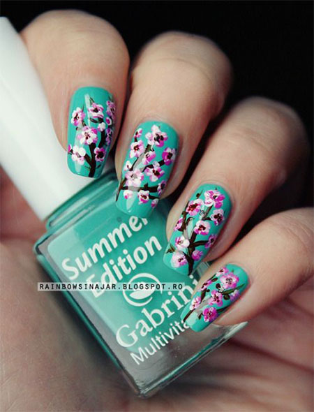 15-Cherry-Blooms-Spring-Nail-Art-Designs-Ideas-Trends-Stickers-2015-2