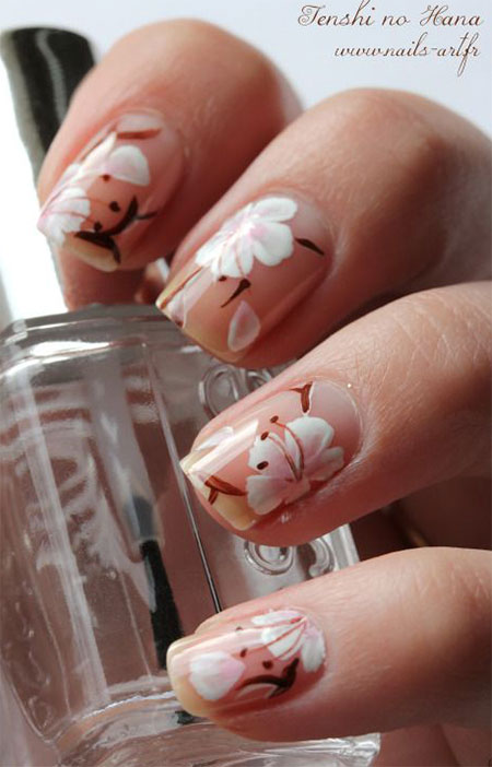 15-Cherry-Blooms-Spring-Nail-Art-Designs-Ideas-Trends-Stickers-2015-3