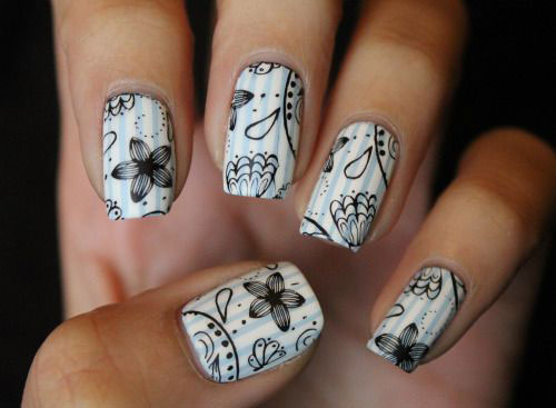 15-Easy-Spring-Nail-Art-Designs-Ideas-Trends-Stickers-2015-10