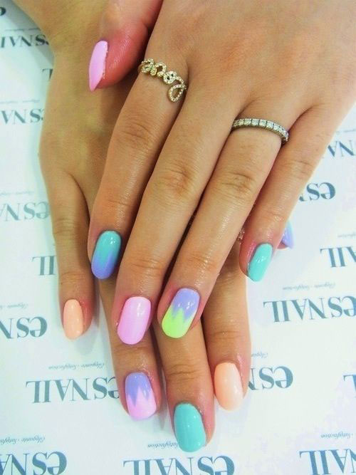 15-Easy-Spring-Nail-Art-Designs-Ideas-Trends-Stickers-2015-3