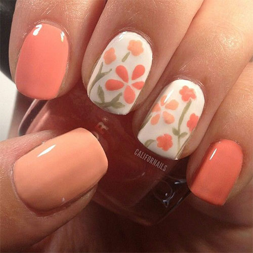 15+ Spring Flower Nail Art Designs, Ideas, Trends