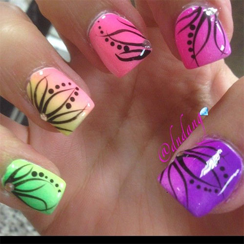 15 spring flower nail art designs ideas trends