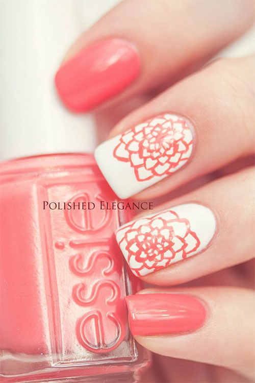 15 Spring Pastel Nail Designs: 15+ Spring Flower Nail Art Designs, Ideas, Trends