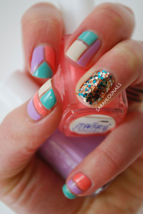 18 Best Spring Nail Art Designs Ideas Trends Stickers 2015 13 18 Best Spring Nail Art Designs, Ideas, Trends & Stickers 2015