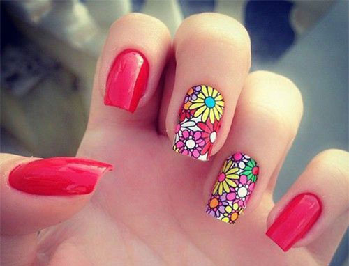 18 Best Spring Nail Art Designs Ideas Trends Stickers 2015 4 18 Best Spring Nail Art Designs, Ideas, Trends & Stickers 2015