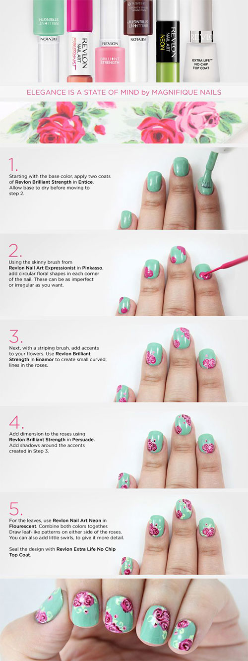 Easy-Step-By-Step-Spring-Nail-Art-Tutorials-For-Beginners-Learners-2015-3