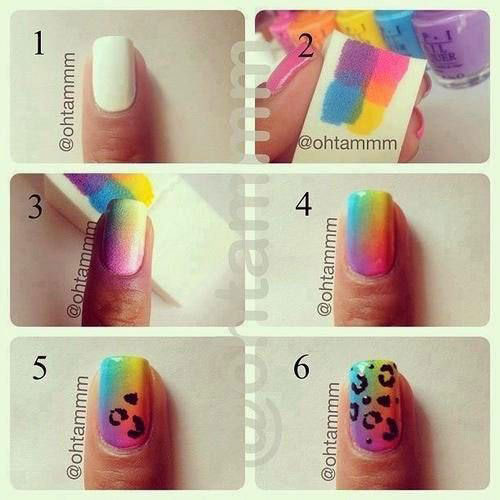 Easy-Step-By-Step-Spring-Nail-Art-Tutorials-For-Beginners-Learners-2015-9