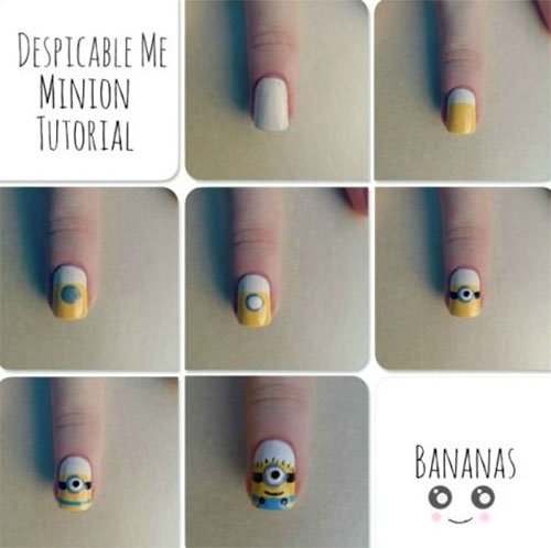 10-Easy-Step-By-Step-Minion-Nail-Art-Tutorials-For-Beginners-Learners-2015-4
