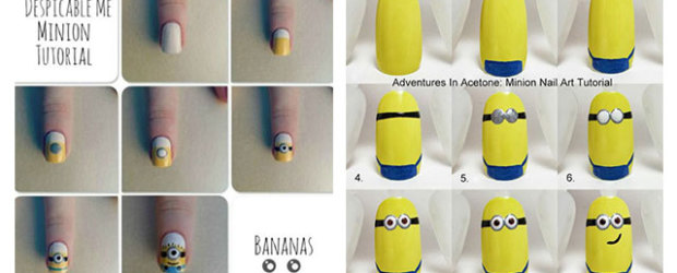 10-Easy-Step-By-Step-Minion-Nail-Art-Tutorials-For-Beginners-Learners-2015