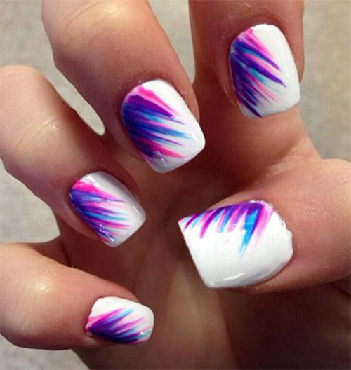 12 Amazing Summer Blue Nail Art Designs Ideas Trends