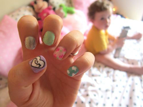 15-Best-Happy-Mothers-Day-Nail-Art-Designs-Ideas-Trends-Stickers-2015-15