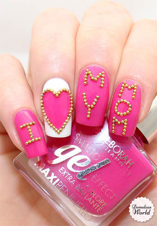 15-Best-Happy-Mothers-Day-Nail-Art-Designs-Ideas-Trends-Stickers-2015-3