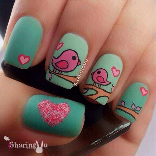 15-Best-Happy-Mothers-Day-Nail-Art-Designs-Ideas-Trends-Stickers-2015-6