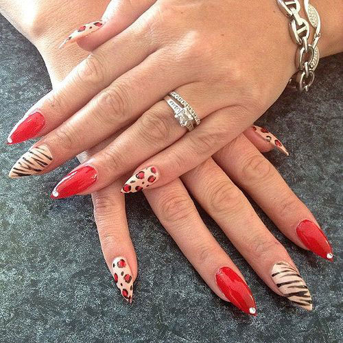 15-Cool-Pretty-Summer-Acrylic-Nail-Art-Designs-Ideas-Trends-Stickers-2015-1