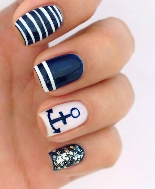 15+ Cool & Pretty Summer Acrylic Nail Art Designs, Ideas