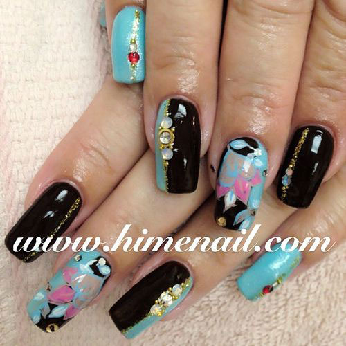 15-Cool-Pretty-Summer-Acrylic-Nail-Art-Designs-Ideas-Trends-Stickers-2015-5