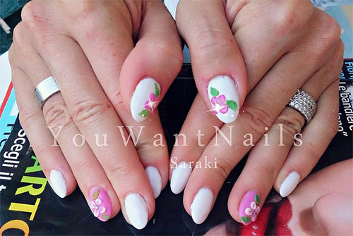 15 Cool Amp Pretty Summer Acrylic Nail Art Designs Ideas Trends Amp Stickers 2015 Fabulous Nail