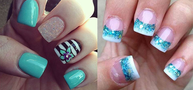15 cool pretty summer acrylic nail art designs ideas trends stickers 2015 fabulous nail art designs - Ideas For Nails Design