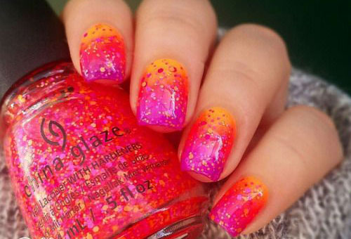 15 Fun Bright Summer Gel Nail Art Designs Ideas Trends
