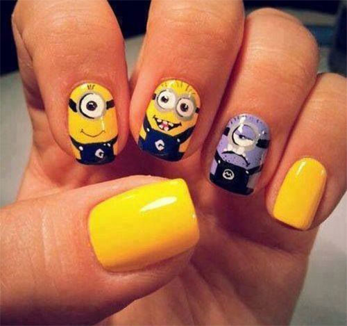 25-Awesome-Minion-Nail-Art-Designs-Ideas-Trends-Stickers-2015-11
