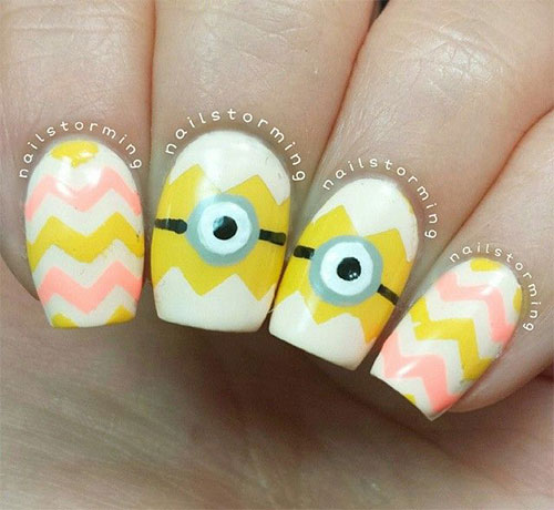 25-Awesome-Minion-Nail-Art-Designs-Ideas-Trends-Stickers-2015-17